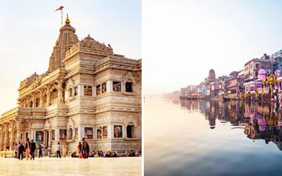 Golden Triangle Tour with Mathura Vrindavan
